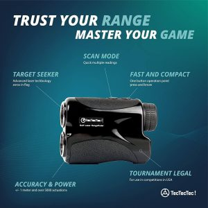 TecTecTec Trust Your Range Master Your Game VPRO500 Rangefinder Technology