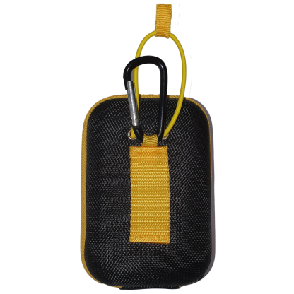 TecTecTec Premium case pouch black and yellow for several models of laser rangefinder
