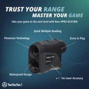 TecTecTec Trust Your Range Master Your Game VPRODLX 1K Rangefinder Technology