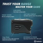 TecTecTec Trust Your Range Master Your Game VPRODLX 1KS Rangefinder Technology