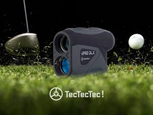 TecTecTec Golf Rangefinder VPRO DLX Fast-Measuring Technology