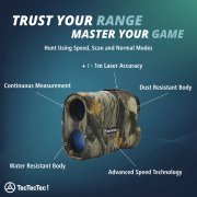 TecTecTec Hunt with Greater Accuracy ProWild Hunt Rangefinder Technology