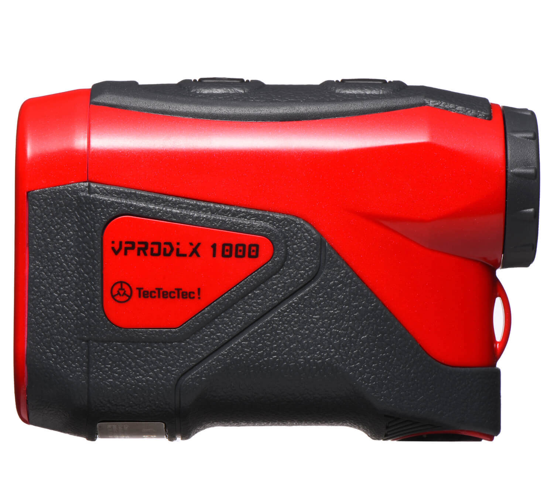 TecTecTec Best Budget Golf Rangefinder VPRODLX 1K - Red
