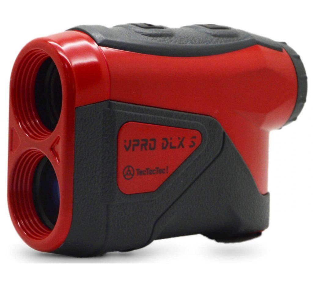 TecTecTec Best Budget Golf Rangefinder VPRO DLXS - Red