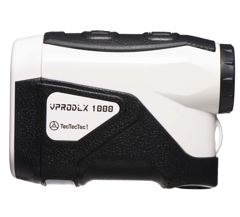 TecTecTec Best Budget Golf Rangefinder VPRODLX 1K - White