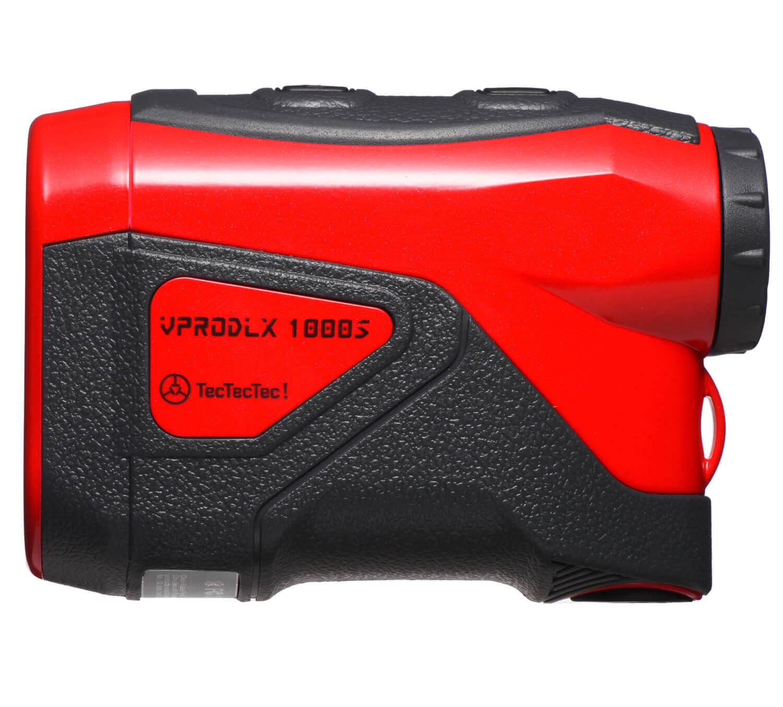 TecTecTec Best Budget Golf Rangefinder VPRODLX 1KS - Red