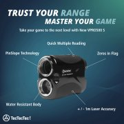 TecTecTec Trust Your Range Master Your Game VPRO500S Rangefinder Technology
