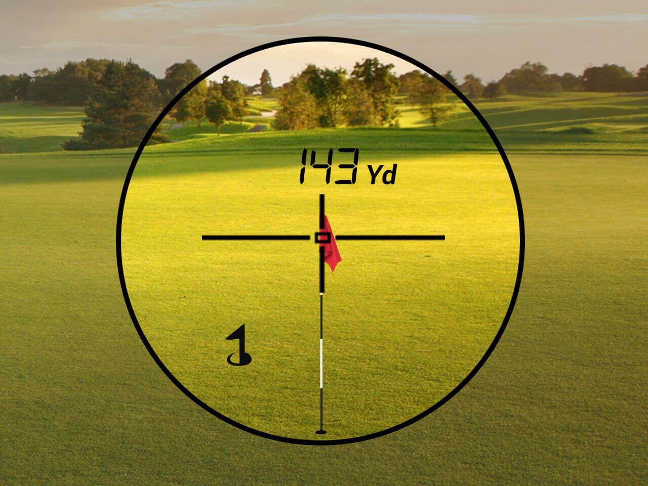 TecTecTec Golf Rangefinder Distance Control