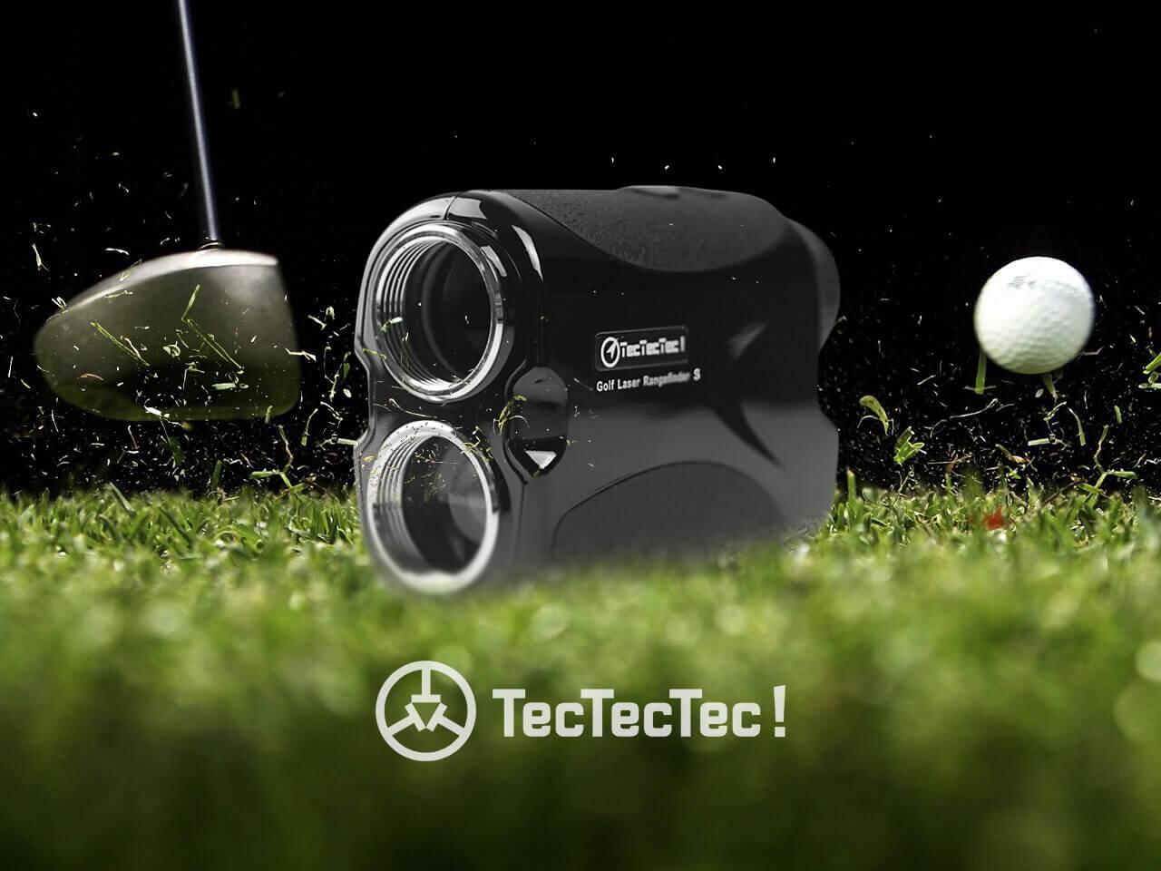 TecTecTec Golf Rangefinder VPRO500S Fast-Measuring Technology