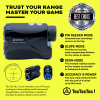 TecTecTec pin mode pin seeker scan mode angle-compensated vibration golf precision laser rangefinder VPRO500S