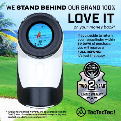 TecTecTec warranty golf precision laser rangefinder DLXS