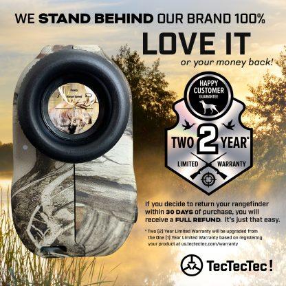 TecTecTec warranty hunting precision laser rangefinder PROWILD PROWILD S