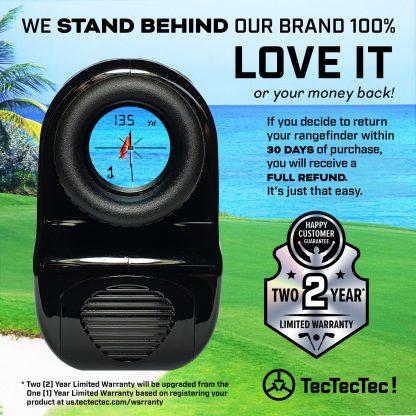 TecTecTec warranty precision laser golf rangefinder VPRO500 VPRO500S