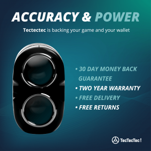 TecTecTec Golf Rangefinders 2 Year Warranty, Love It or Your Money Back!