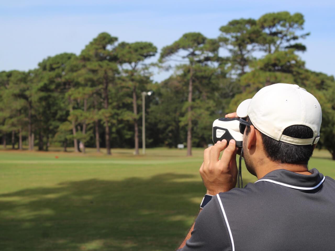 TecTecTec Best Golf Rangefinder VPRO DLX 1K_white