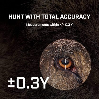 TecTecTec hunting laser rangefinder high accuracy within 0,3 Yard precision