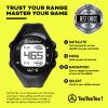 TecTecTec ULT-G precision satellite gps golf watch packaging 38000 courses worldwide