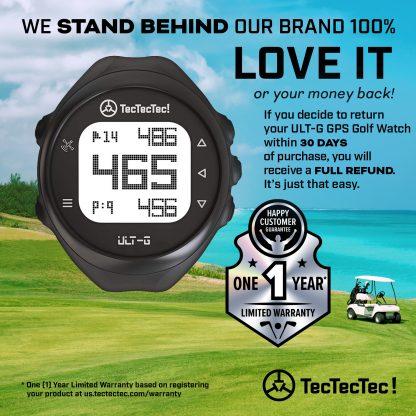 TecTecTec warranty ULT-G precision satellite gps golf watch