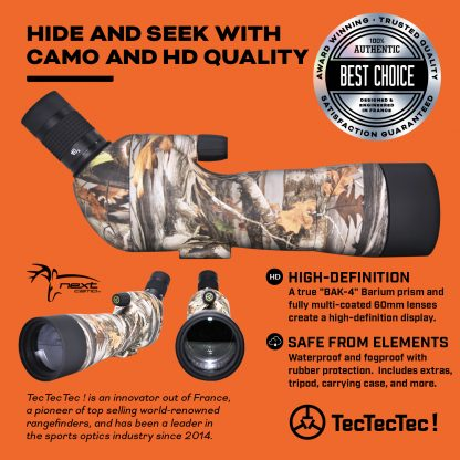 TecTecTec high-definition optics BAK-4 FMC 60mm lenses spotting scope SPROWILD