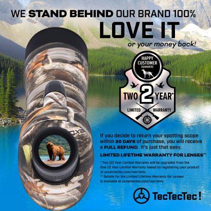 TecTecTec SPROWILD spotting scope warranty