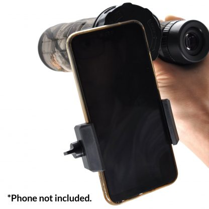 TecTecTec smartphone adapter for BPROWILD Binoculars with high-definition optics BAK-4 Barium prism Fully Multi Coated 42mm lenses and Next Camo G1 Camouflage Pattern