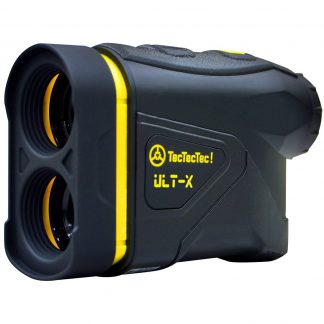 TecTecTec golf precision laser rangefinder ULT-X 1000 Yard measurement 0,3 Yard precision black yellow