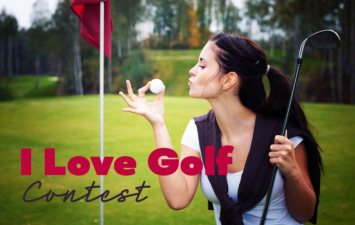 I Love Golf Contest 2021