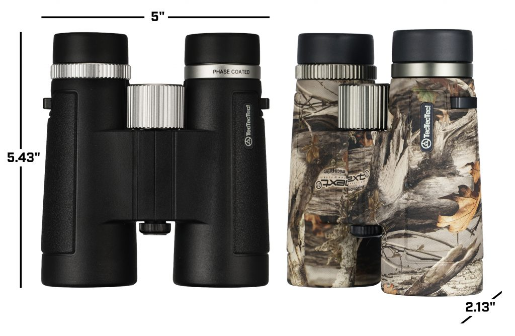 BPROWILD ED Dimensions Black and Camouflage