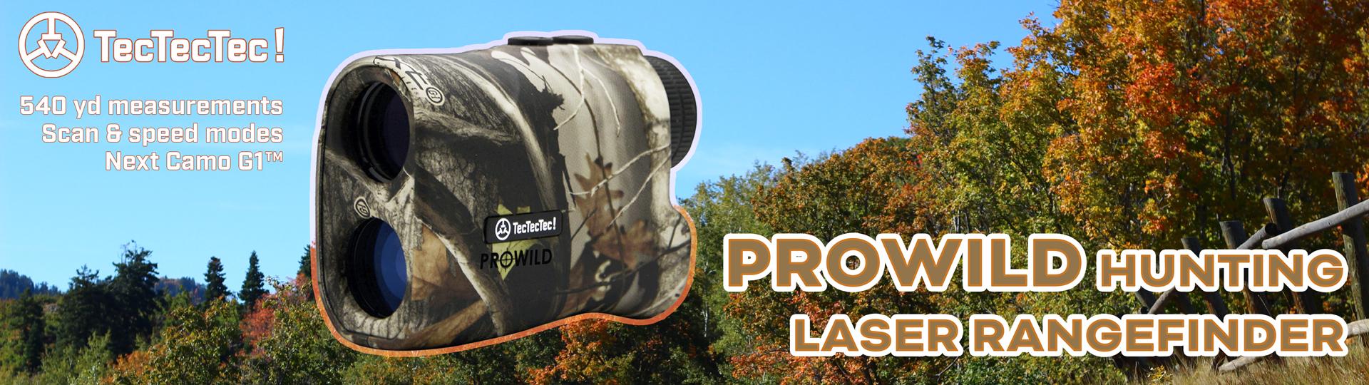 PROWILD Slide Banner Rangefinder Hunting TecTecTec